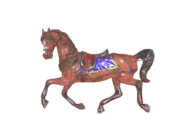 FO76 Carousel horse