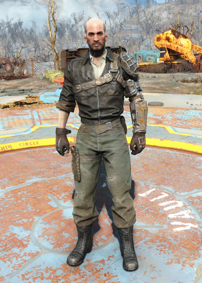 Kellogg S Outfit Fallout Wiki Fandom In order to get the ballistic weave, i need to do some more missions for the railroad. kellogg s outfit fallout wiki fandom