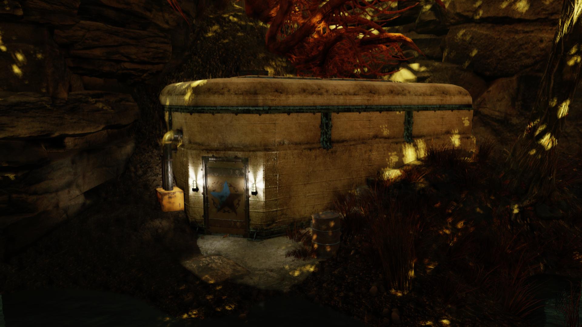 Ella Ames' bunker