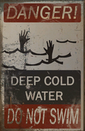 FO4 Poster Danger deep cold water Do not swim