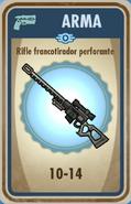 FOS Rifle de francotirador perforante carta