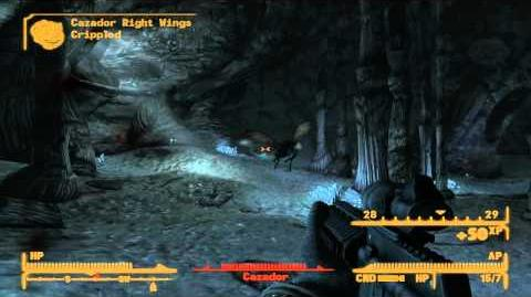 Fallout New Vegas The Legendary Cazador + Remnants power Helmet