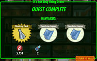 FoS It's not Easy Being Green rewards