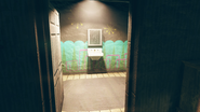 FO76SD Orwell Orchards bomb shelter lounge restroom