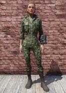 FO76 Forest Camo Jumpsuit