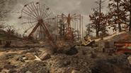 FO76 Lake Reynolds (Ferris wheel)