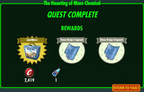 FoS The Haunting of Mass Chemical rewards