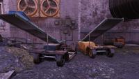 Wadeairporttworailservicecars