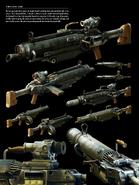 FO4art weapon machinegun