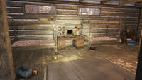 FO76 Middle Mountain Cabins (Pioneer Scout Terminal)