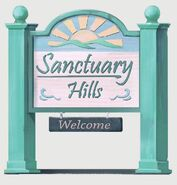 Fo4 Sanctuary Hills Sign Art