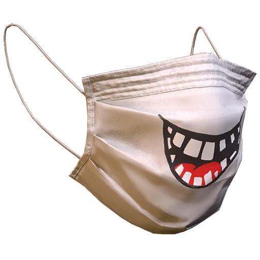 Medical smile mask