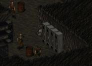 FAB mercenaries cave
