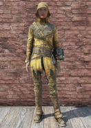 FO76 Longshoreman Outfit with Hat