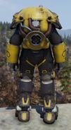 Fallout 76 X-01 prototype power armor back