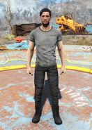 Vault-Tec overseer t-shirt male