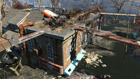 FO4 Forest Grove marsh (Crab Shack and Pharmacy Roof)
