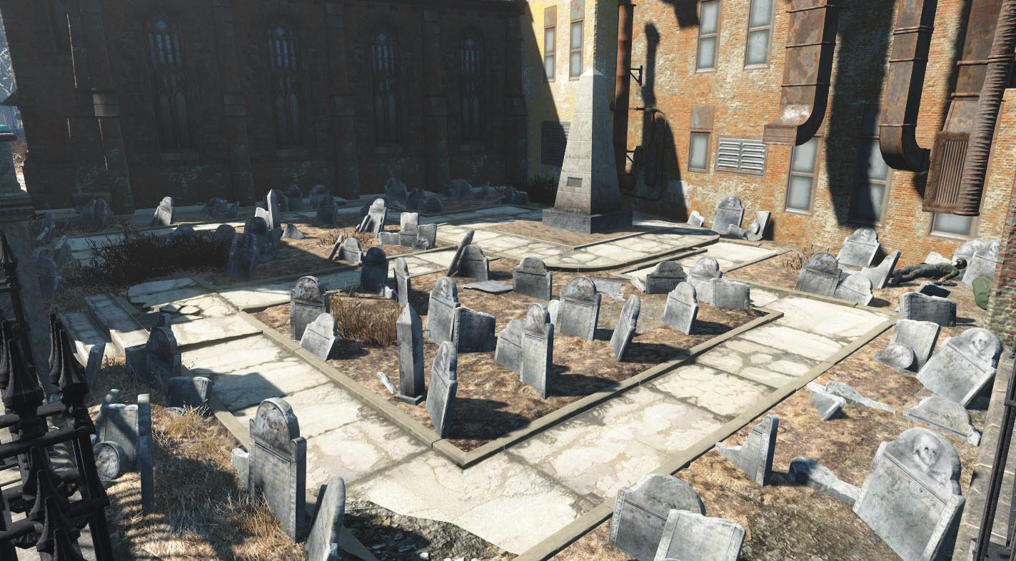 Ancien cimetière Granary Burying Ground
