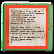 Shotgun shell ammo box description