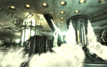 FO3MZ Death Ray control Activation of the generator