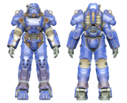 FO4CC T-60 power armor blue