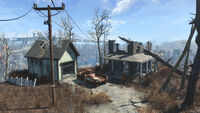 FO4 Natick Hillside Home