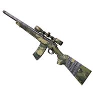FO76 Atomic Shop - Camo hunting rifle paint