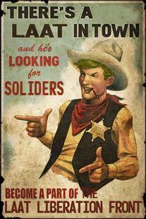 Laat soldiers