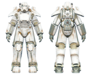 FO4CC T-45 power armor white