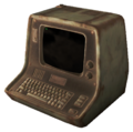 FO4 Desktopterminal weathered