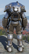 Fallout 76 X-01 standard power armor back