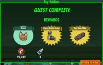 FoS Toy Soldiers rewards