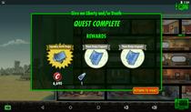 Liberty Quest Rewards