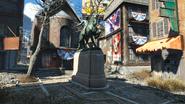 FO4 Paul Revere Monument