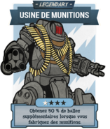 FO76 (Legendary) Usine de munitions
