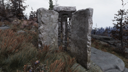 FO76 Mysterious guidestones southern face