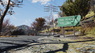 FO76 Point Pleas Vault 76 sign