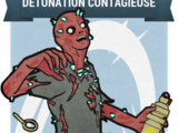Détonation contagieuse