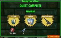 FoS Factory Floor of Fear rewards
