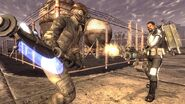 FNV fight lobotomy and Courier
