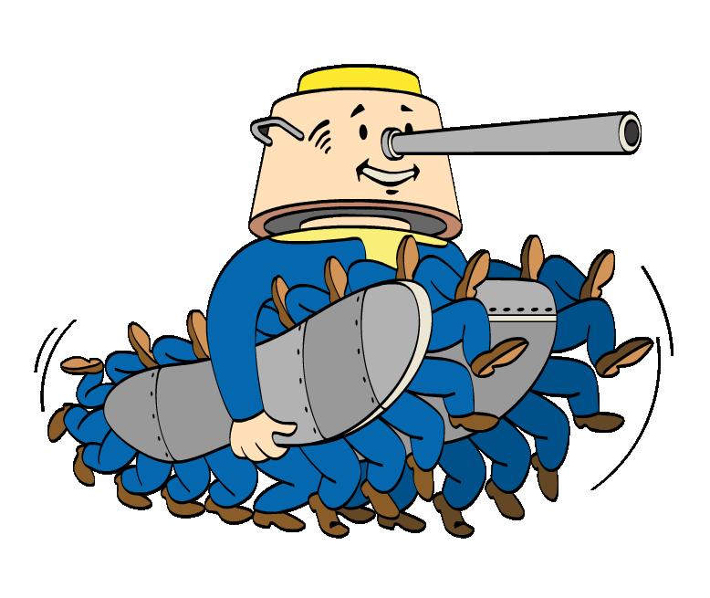 Фанат больших пушек (мастер)