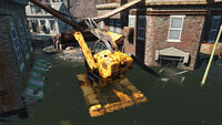 FO4 Forest Grove marsh (Rusty Yellow Digging Machine)