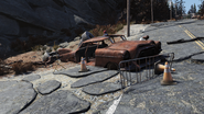 FO76 190721 Sequestered car