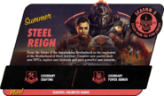 FO76 2021 Roadmap Steel Reign