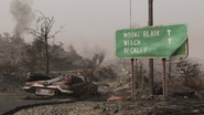 FO76 Another Mt Blair sign