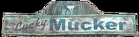 FO76 Lucker mucker sign
