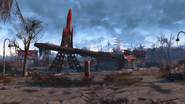 Fo4 Red Rocket Truck Stop 1