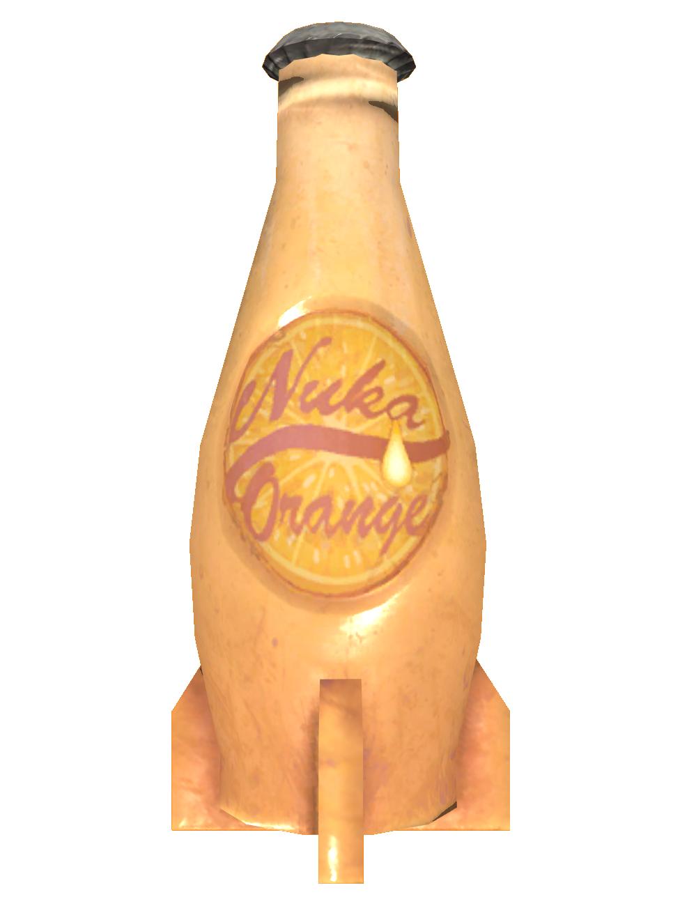 Ice cold Nuka-Cola Orange
