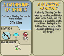 FoS A Gathering of Ghouls card