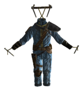 Hanging Armored Vault suit